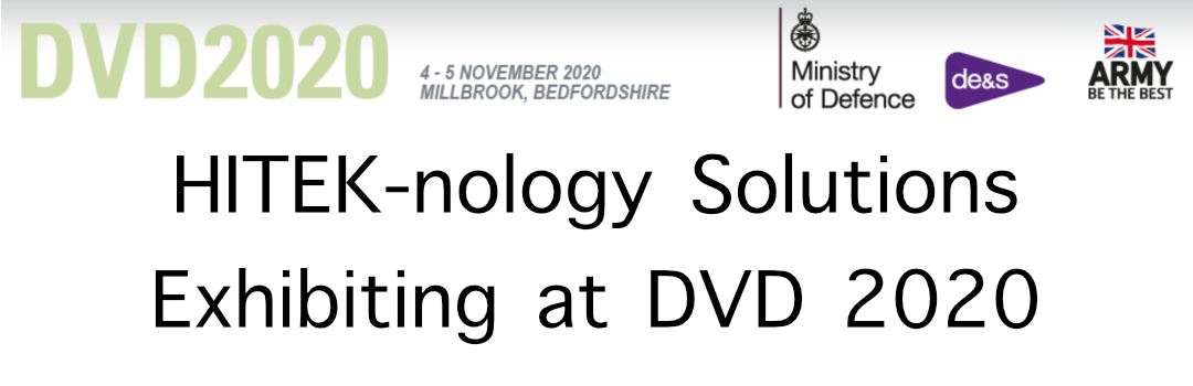 HITEK-nology Solutions at DVD 2020